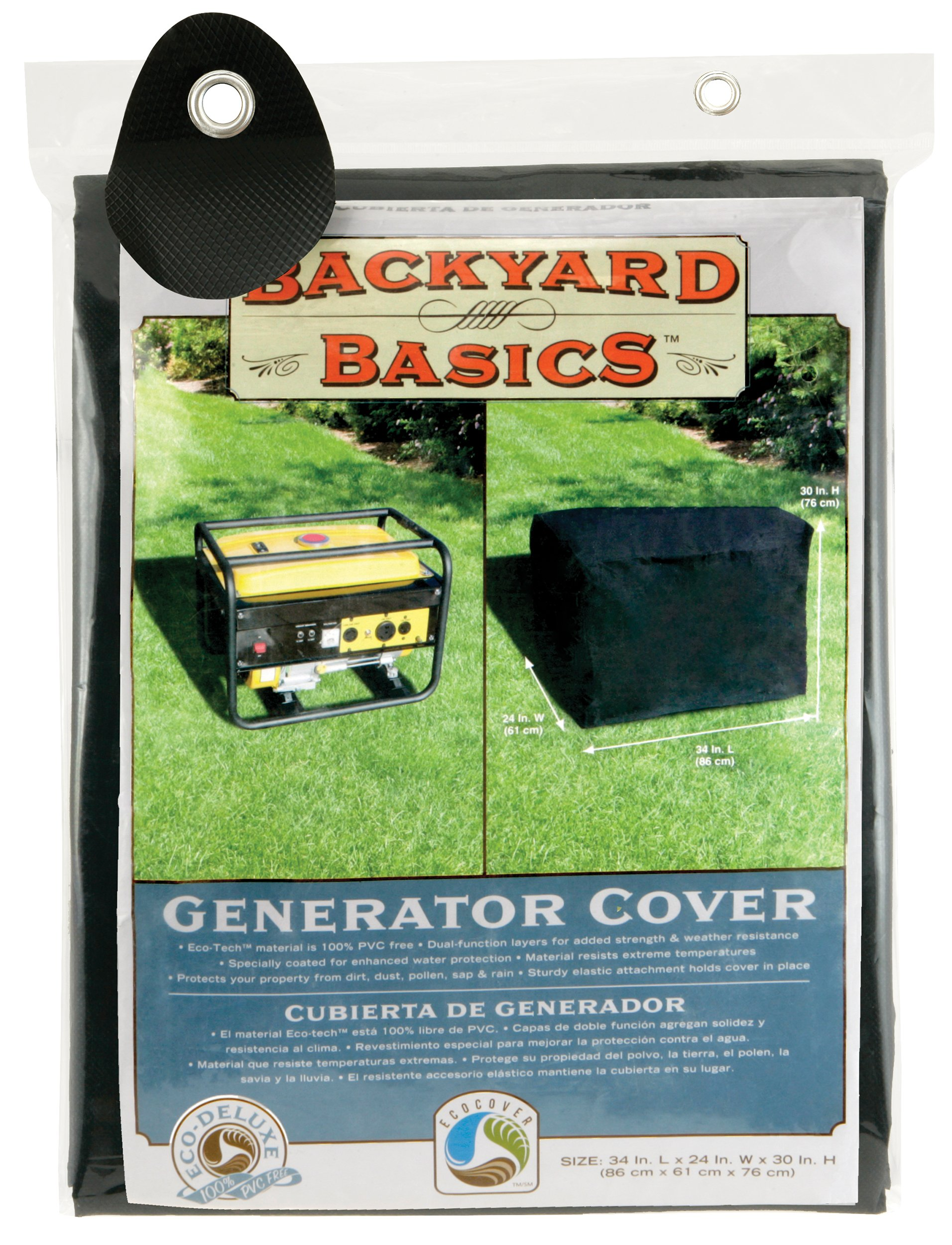 Backyard Basics Generator Cover, 34 x 24 x 30 Inch by Backyard Basics