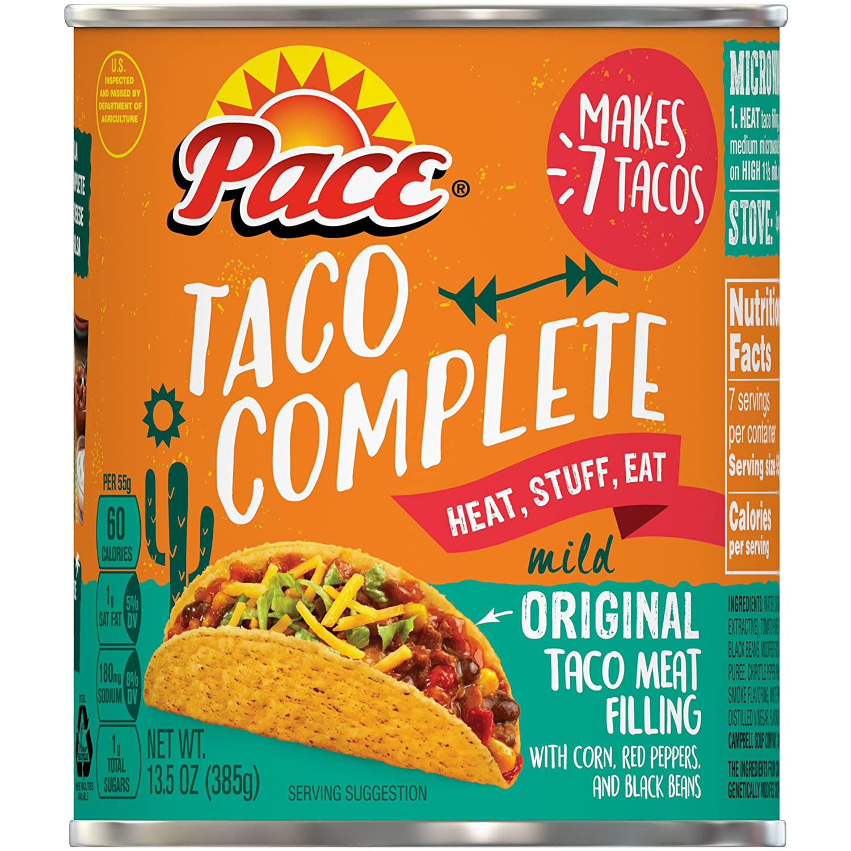 Pace Taco Complete Mild Original,13.5 oz. (Pack of 6)