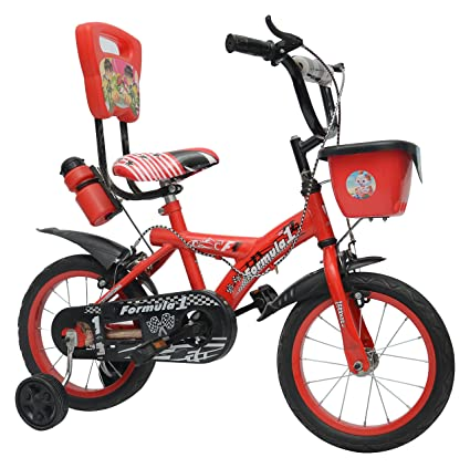 Buy Air Marshal Kids\' Steel Formula - 1 Bicycle (60 cm, Pink) Age ...