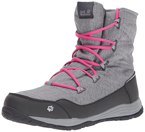 4d28ed820b4 Jack Wolfskin Girls' Portland Boot G High Rise Hiking Shoes: Amazon ...