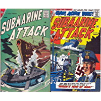 Submarine Attack. Issues 13 and 16. What was the u-boat fleet really like? See u boat slug it out in Hitlers kind of man. Golden Age Digital Comics Military and War