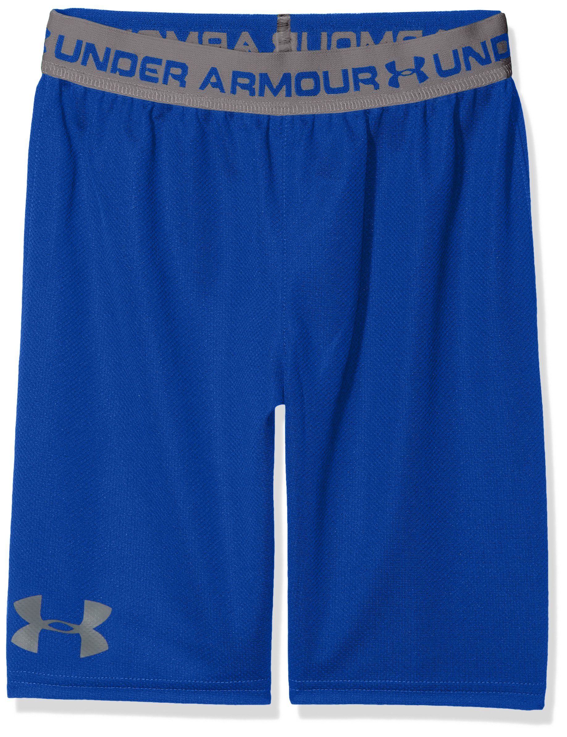 Under Armour Boys' Tech Prototype 2.0 Shorts, Royal (400)/Graphite, Youth Large by Under Armour