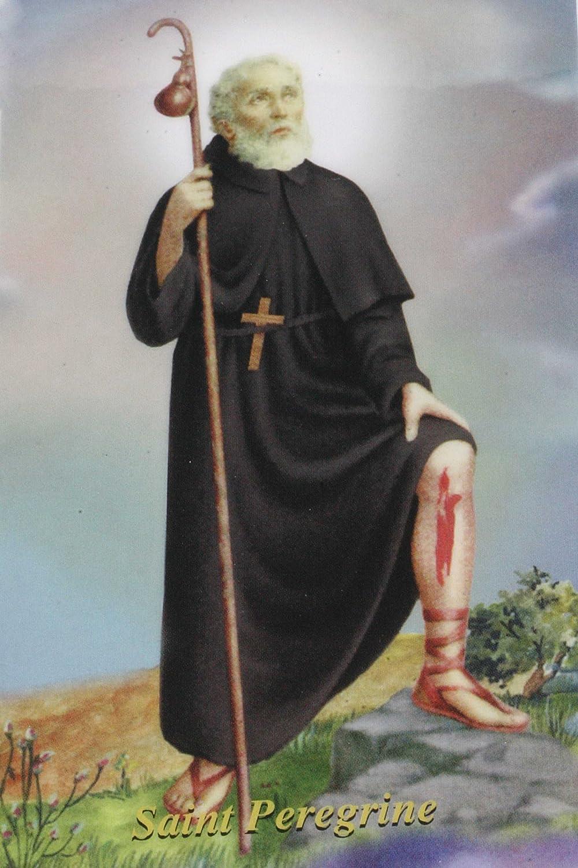 St Patron Saint of Cancer Patients Peregrine Chaplet Agate Gemstone
