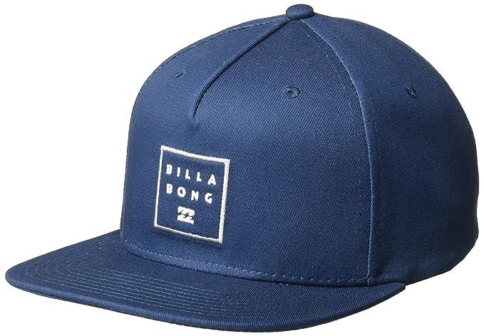 BILLABONG Hombres Stacked Snapback Hat Gorra de béisbol - Azul -: Amazon.es: Ropa y accesorios