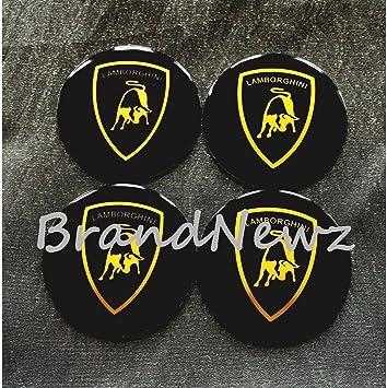 Lamborghini Emblem Wheel Center Cap Sticker Logo Badge Wheel Trim