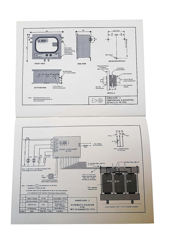 Buy PECON make TR-7570 Transformer Protection Relay (Temperature