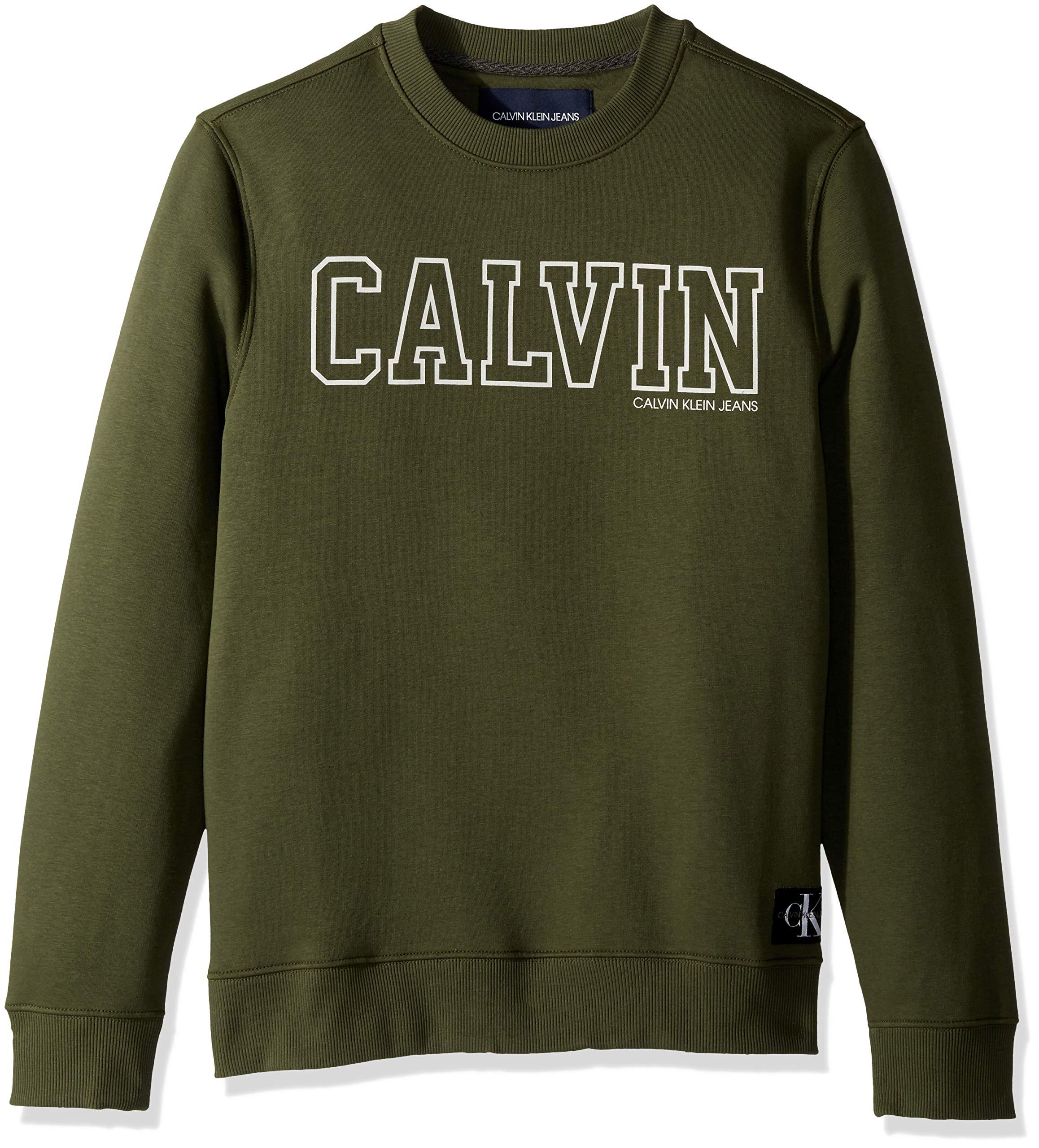 Calvin Klein Jeans Men's Crew Neck Sweatshirt with