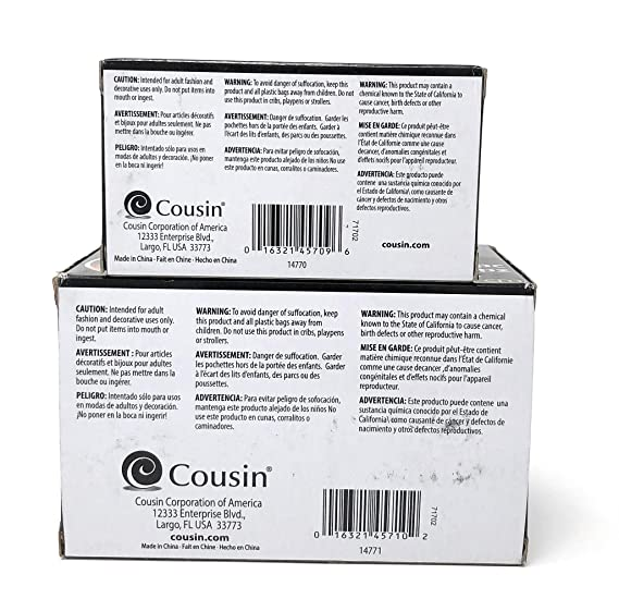 Amazon.com: Cousin Jewelry Basics Bagettes Storage Bags and Dispenser Bundle - 2x3 inch (175 pcs) and 3x5 inch (175 pcs): Arts, Crafts & Sewing