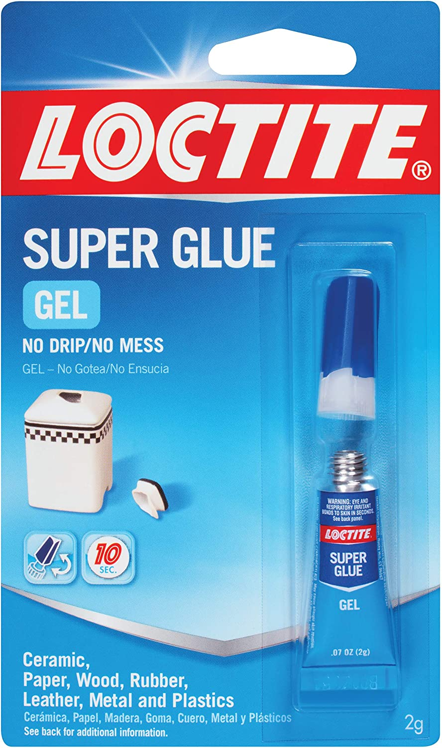Loctite Super Glue Gel 2-Gram Tube (235495)
