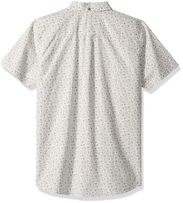 Rip Curl Mens Flower Shop Short Sleeve Button Up Shirt