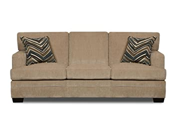 simmons upholstery sassy barley hideabed queen - Hideabed
