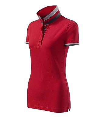 OwnDesigner by Adler - Polo - para mujer rojo Medium: Amazon.es ...