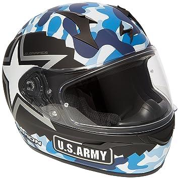 Scorpion Casco Moto exo-390 Army, multicolor, talla XXL
