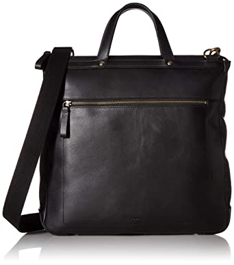 7d2d2d5de3a6 Fossil Men s Haskell Ns Workbag Laptop Bag Black One Size