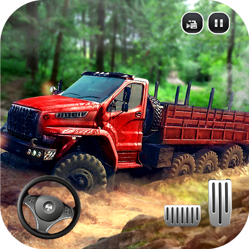 Big Euro Truck Driving Simulator 2018: Offroad Cargo Transport Parking Drive Adventure Games Free For Kids -