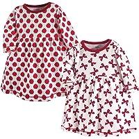 Tocado por Nature - Vestidos de Manga Larga de algodón orgánico para niñas