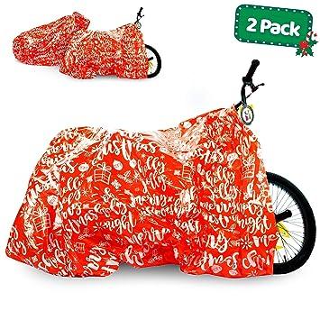 Amazon.com: Bolsa de regalo para bicicleta – 2 unidades ...