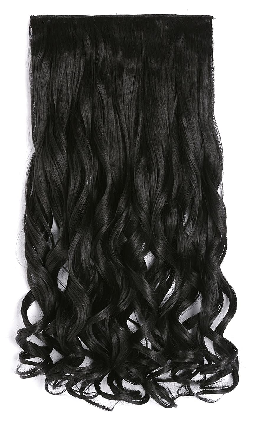 Amazon onedor 20 curly 34 full head synthetic hair amazon onedor 20 curly 34 full head synthetic hair extensions clip onin hairpieces 5 clips 140g 2 darkest brown beauty pmusecretfo Choice Image