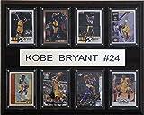 NBA Kobe Bryant Los Angeles Lakers 8 Card Plaque