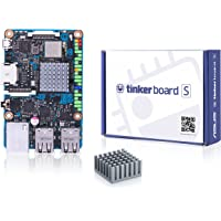 Asus Tinker Board S Motherboard, Quad-Core 1.8GHz, LAN Wi-Fi, GPIO