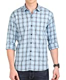 McHenry Mens Pure Cotton Regular Fit Checkered Casual Full Sleeves Shirt