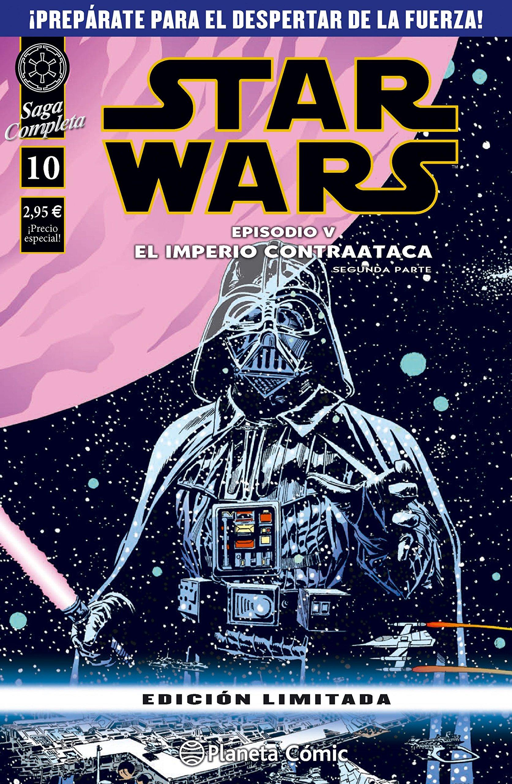 Star Wars Episodio V segunda parte : El imperio contraataca Star Wars: Cómics Grapa Marvel: Amazon.es: AA. VV., Santos, Diego de los: Libros
