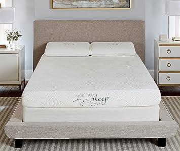 Amazon Com Nature S Sleep 800lp350 8 Gel Memory Foam Mattress