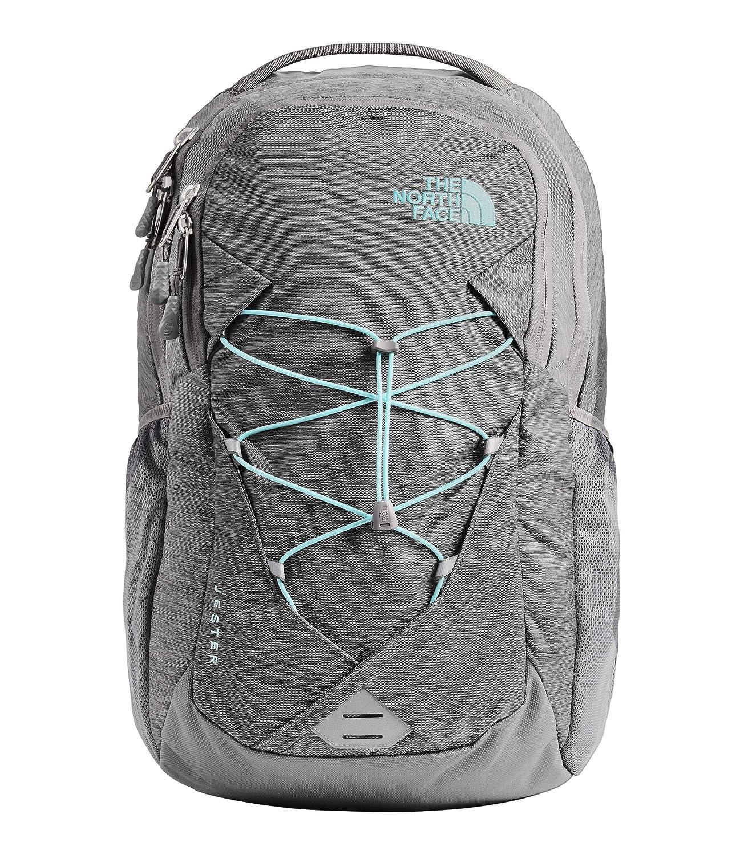 6de7cbe8 Amazon.com | The North Face Women's Jester, Zinc Grey Light Heather/Mint  Blue, OS | Casual Daypacks