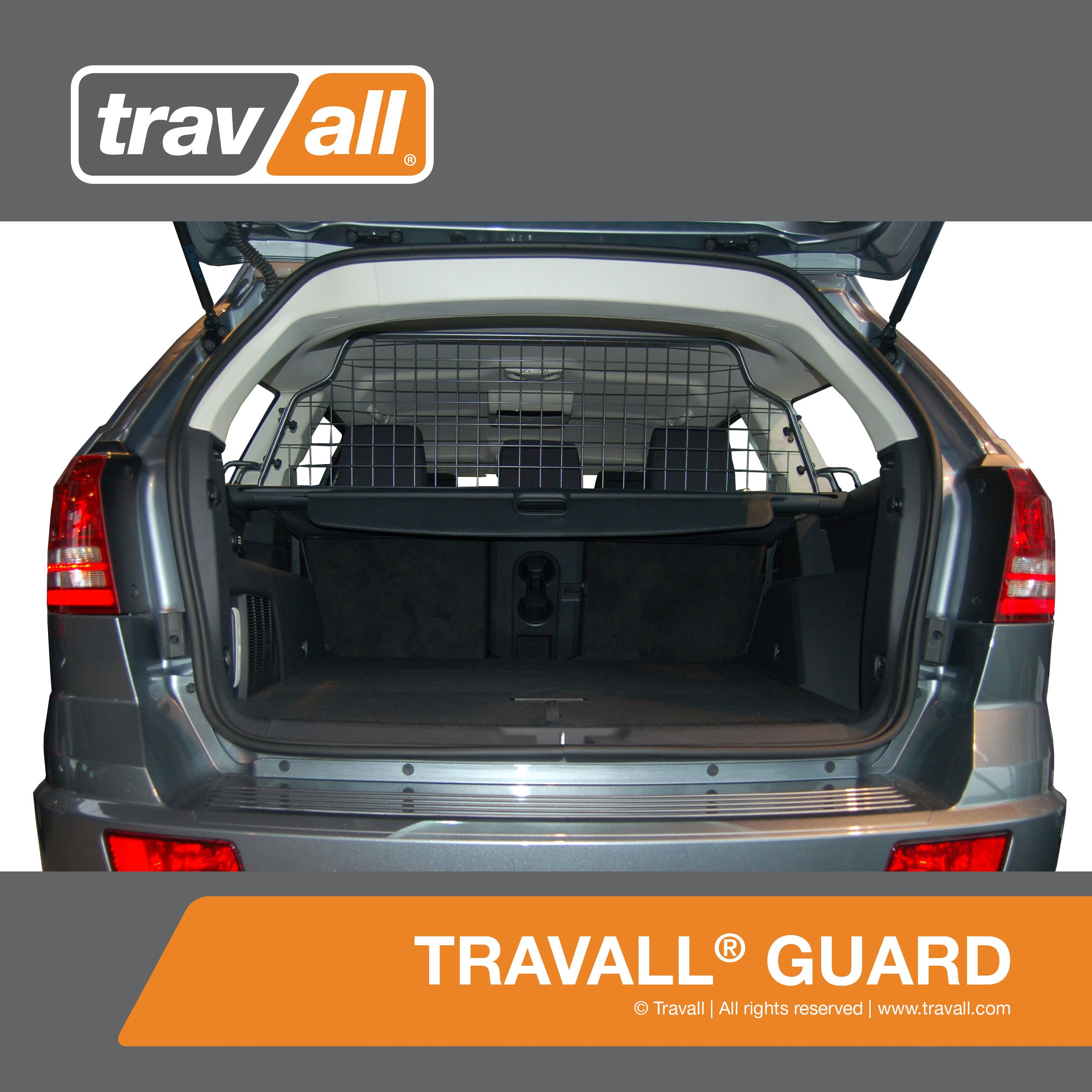 DODGE Journey 5 Seats Pet Barrier (2008-2011) - Original Travall Guard TDG1195 [5 Seat Model Only] by Travall
