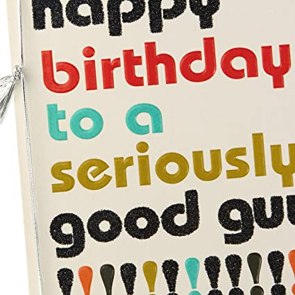 Birthday Card For Men; /'The Answer Is Always No/' GC104
