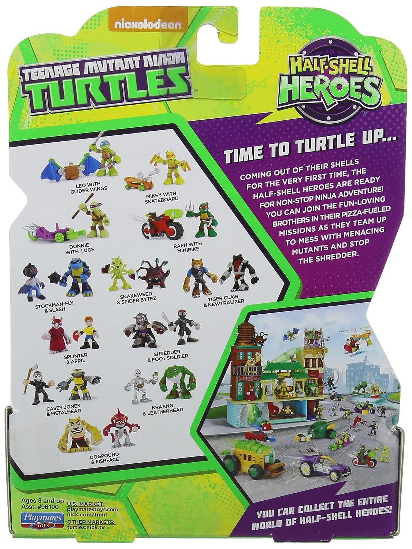 Teenage Mutant Ninja Turtles Serpentaria y Spider Bytez ...