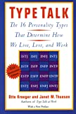 Type Talk: The 16 Personality Types That