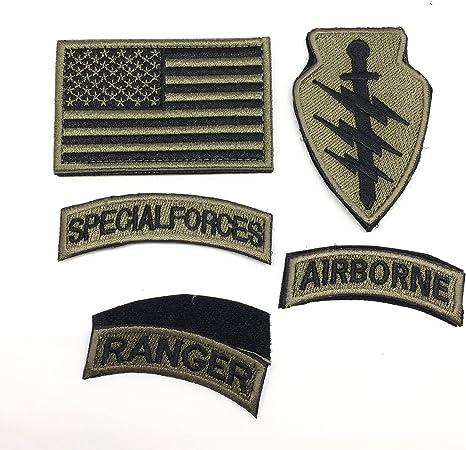 Parche bordado para ropa de las fuerzas especiales Ranger, parches ...