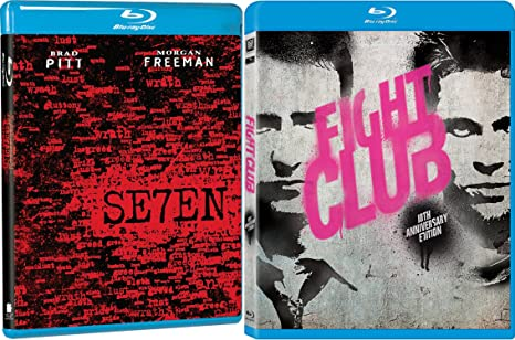 fight club blu ray  : Fight Club & Seven 7 [Blu-ray] 2 Pack Action Movie Set ...