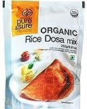 Pure & Sure Organic Rice Dosa Mix, 250g