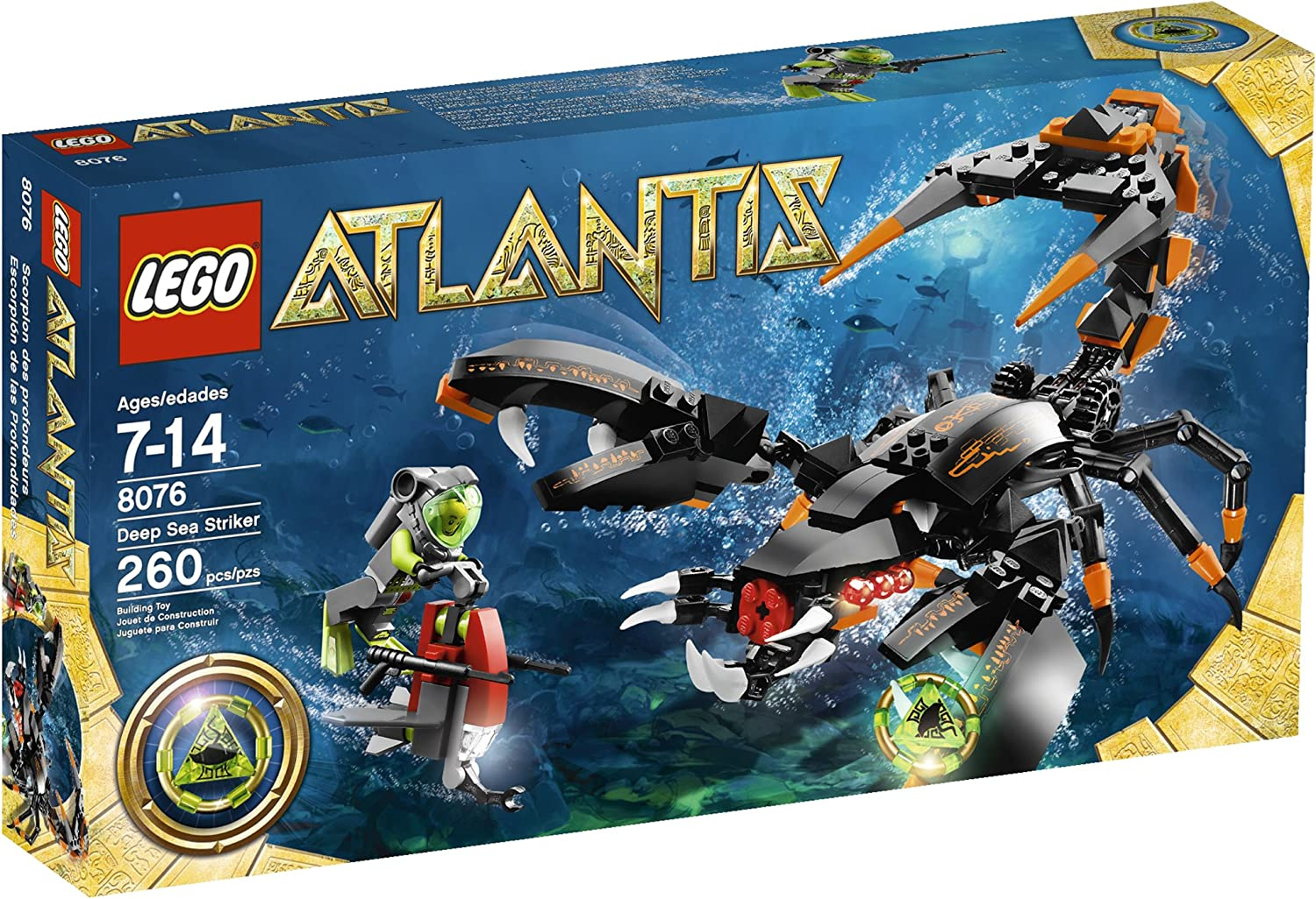 Top 9 Best LEGO Atlantis Sets Reviews in 2020 7