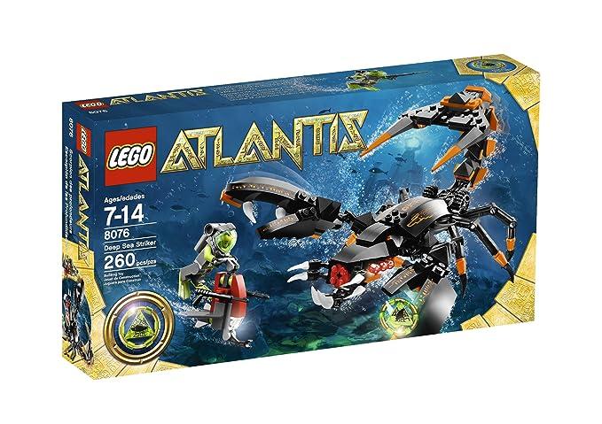 Amazon.com: LEGO Atlantis Deep Sea Striker 8076: Toys & Games