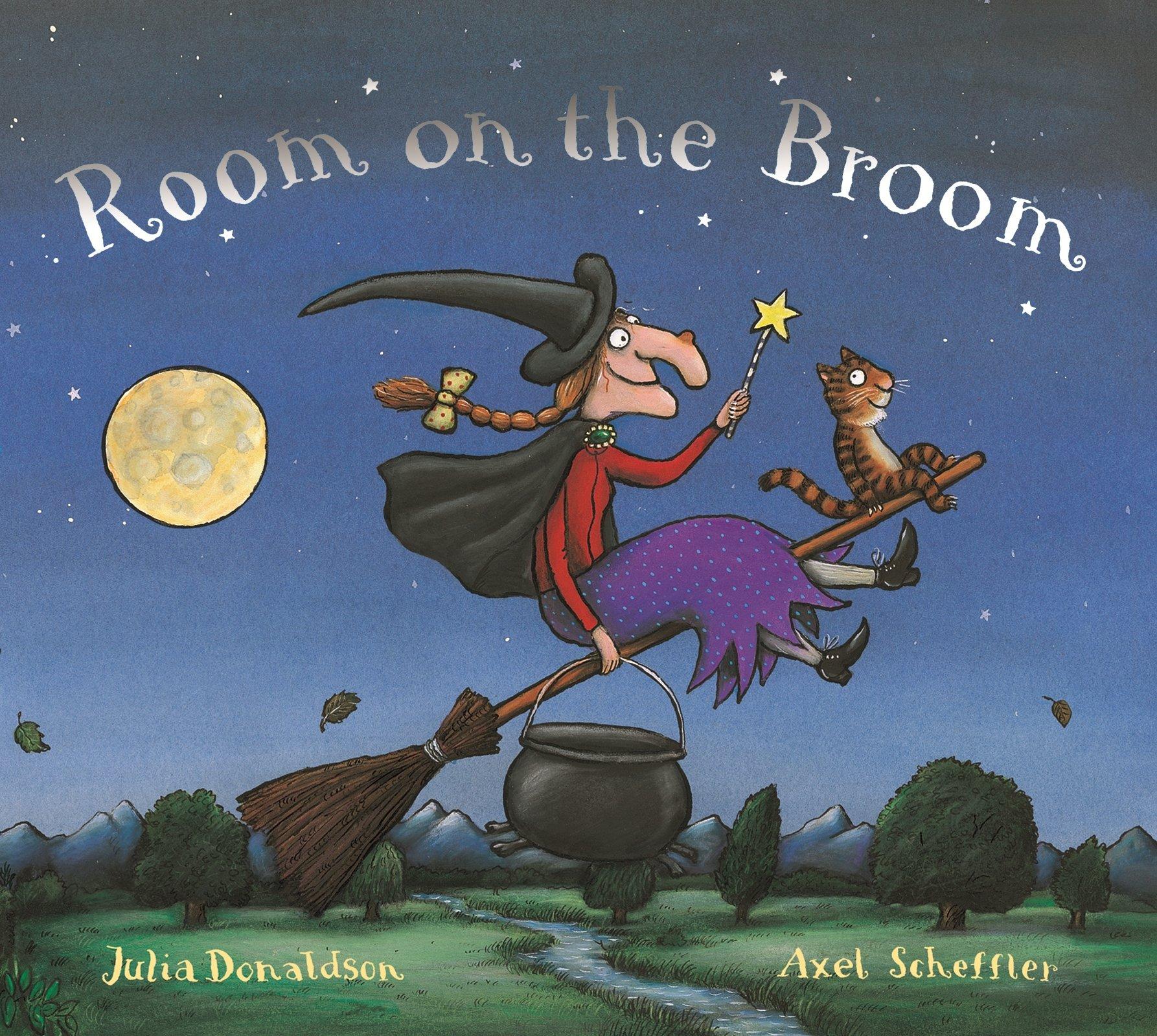Room on the Broom: Amazon.co.uk: Donaldson, Julia, Scheffler, Axel: Books