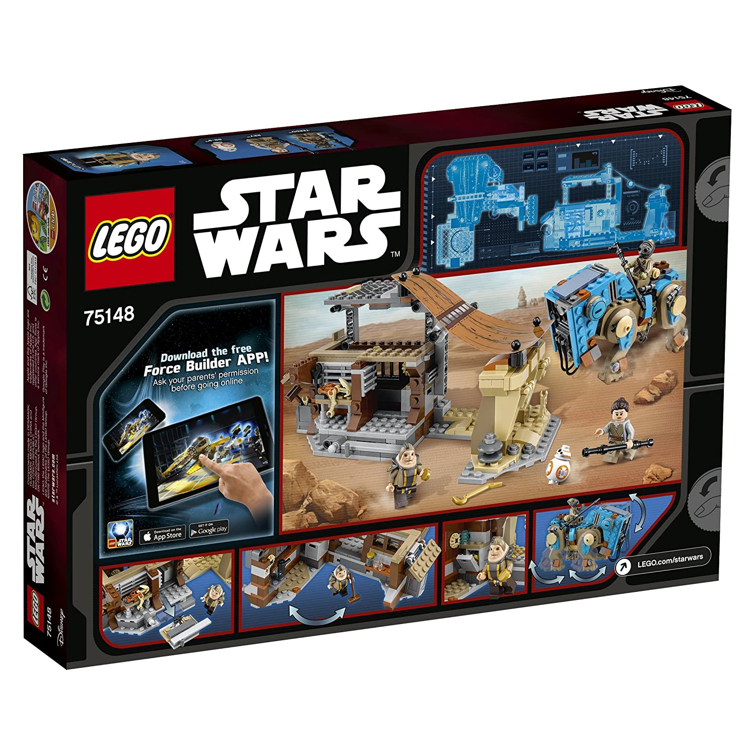 Lego 75148 Star Wars Encounter On Jakku Amazoncouk Toys Games