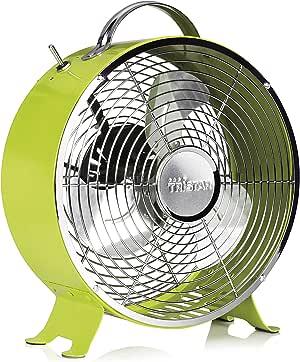 Ventilador de mesa retro Tristar VE-5965 – 25 centímetros – Verde ...