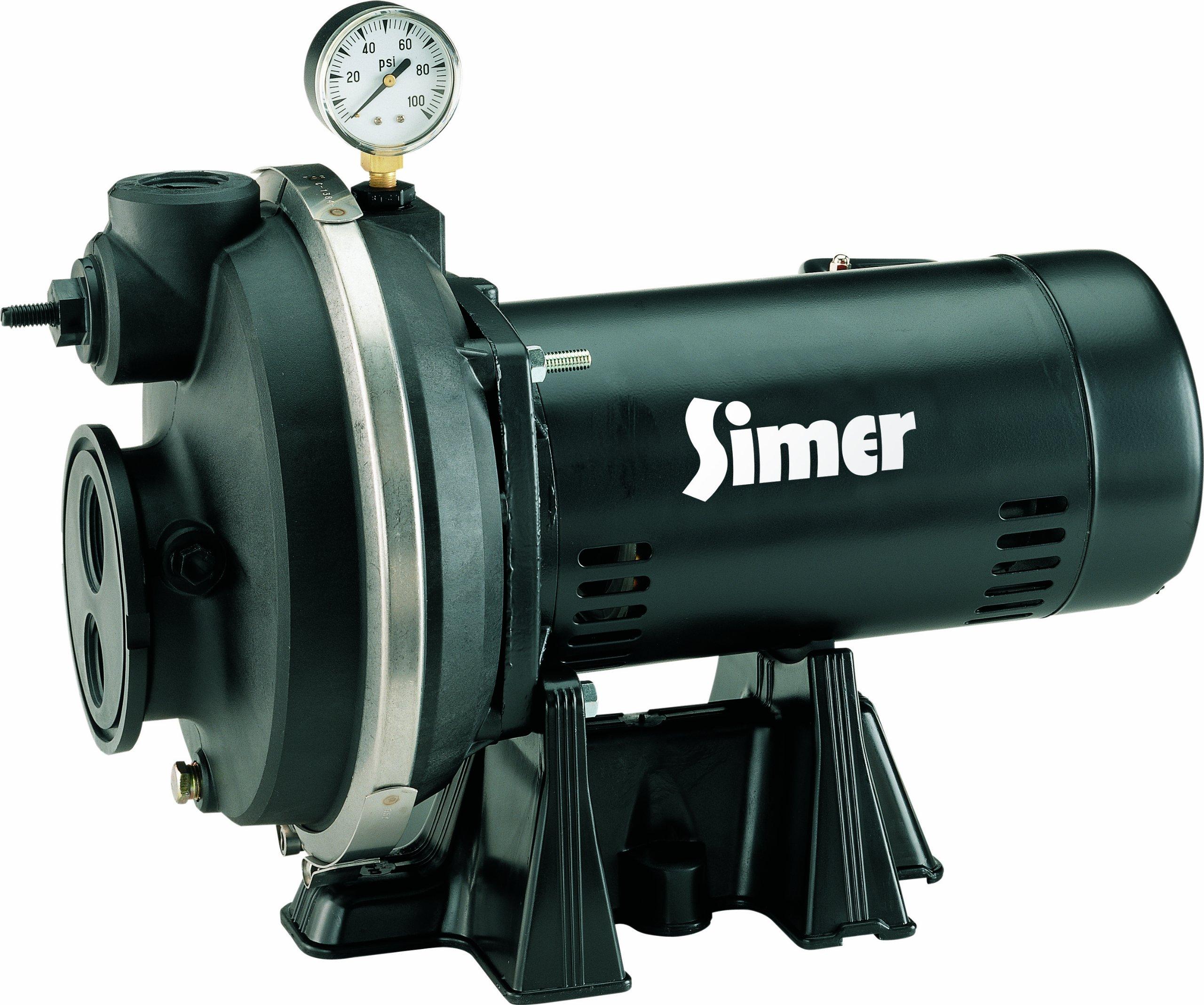 Simer 3310P 1 HP Convertible Deep Well Jet Pump by Simer