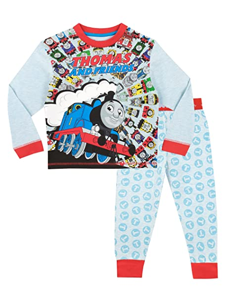 Thomas & Friends Pijama para Niños Thomas The Tank Multicolor 12-18 Meses