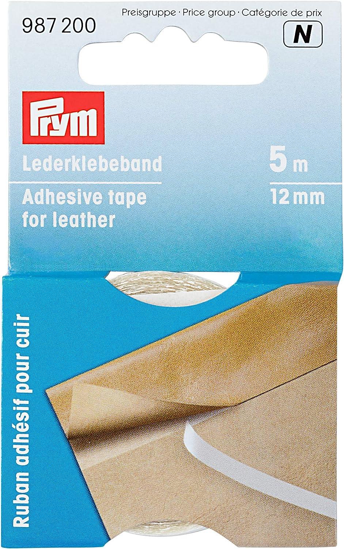 Prym/_987200-1 Lederklebeband 12 mm transparent
