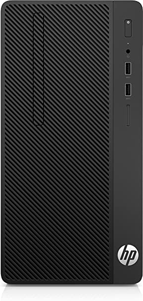 HP 285 G3 AMD Ryzen 5 2400G 8 GB DDR4-SDRAM 256 GB SSD Negro Micro Torre PC - Ordenador de sobremesa (3,6 GHz, AMD Ryzen 5, 8 GB, 256 GB, DVD-RW, Windows 10 Pro)
