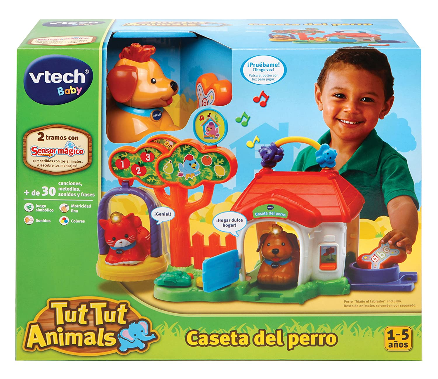 VTech-80-189222 Play Set tut Animals, Color (3480-189222: Amazon.es: Juguetes y juegos