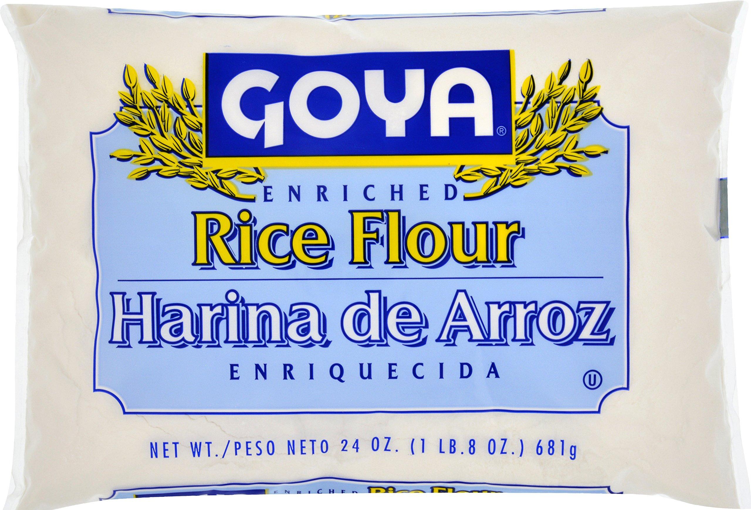 Goya Foods Rice Flour, 24 Ounce (Pack of 12)