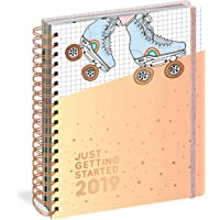 Just Getting Started 17-Month Large Planner 2019 (Pipsticks+Workman)
