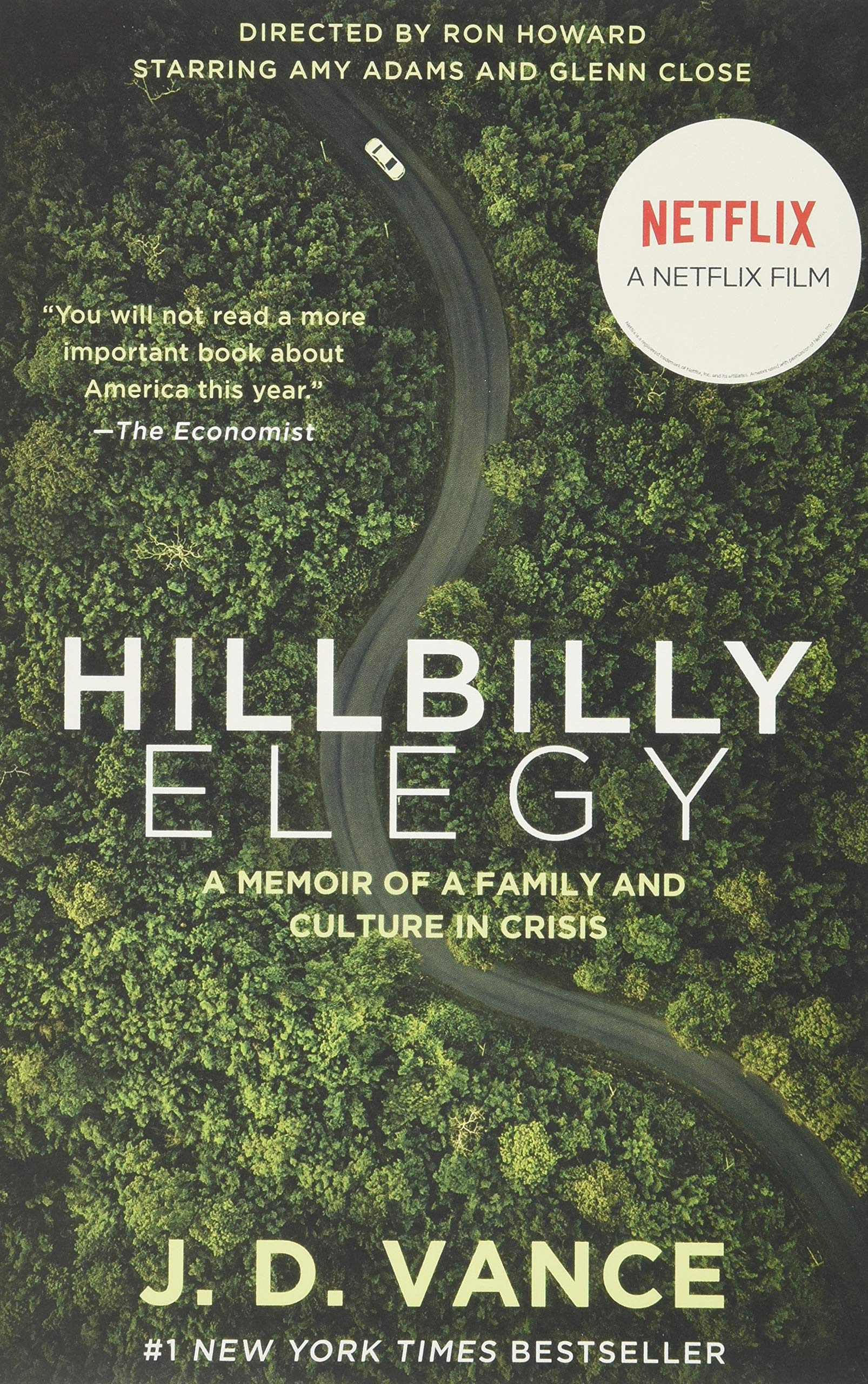 Hillbilly Elegy Movie tie-in : A Memoir of a Family and ...