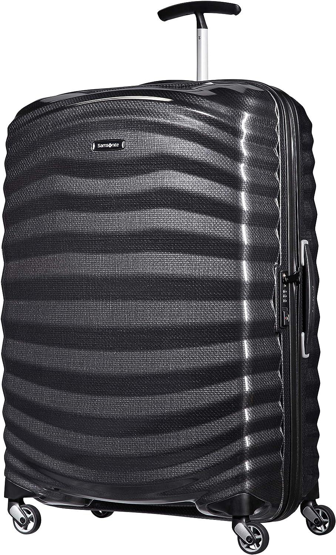Samsonite Lite-Shock - Spinner L Maleta, 75 cm, 98.5 L, Negro (Black)
