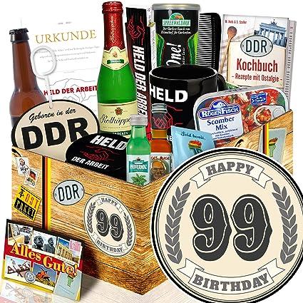 Geschenk Zum 99 99 Iger Geburtstag Geschenke Manner Box Ddr